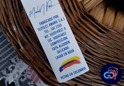 marquilla impresa en bogota - global colombia hc